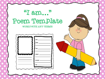 """Template for """"I Am"""" Poem"""