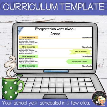 Curriculum Template - Fully Editable