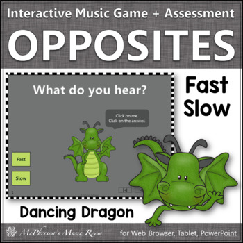 Tempo: Fast or Slow - Interactive Music Game + Assessment