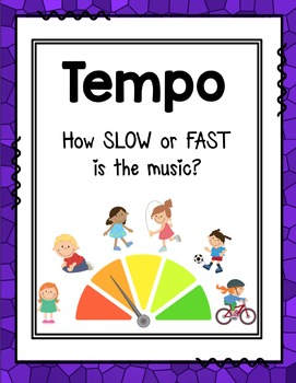 Tempo Lapbook: How Slow or Fast is the Music?