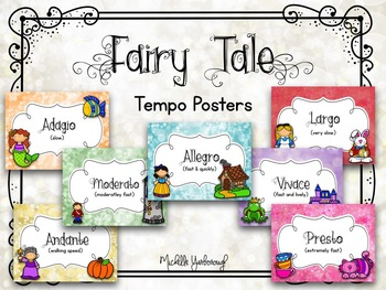 Tempo Posters - Fairy Tale Theme