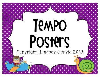 Tempo Posters- Polka Dots