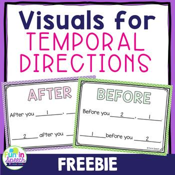 Temporal Direction Visuals FREEBIE