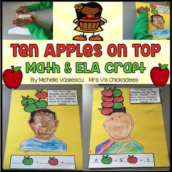 Ten Apples Up On Top: ELA & Math Craft