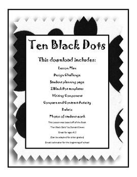 Ten Black Dots - Mini Design Challenge - PBL - Beginning o