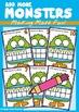 Ten Frame Addition - Monster Pack
