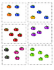 Ten Frame Addition: Rainbow Pumpkins