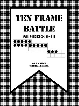 Ten Frame Battle: Numbers 0-10