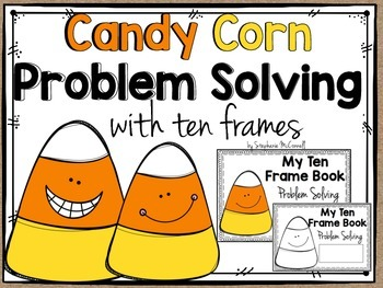 Ten Frame Candy Corn Math-2nd grade