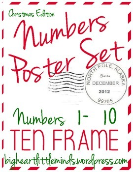 Ten Frame - Christmas Edition!