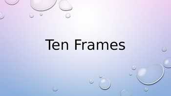 Ten Frame Counting