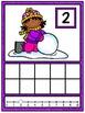 Ten Frame Counting Mats - Winter