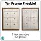 Ten Frame Freebie!