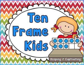 Ten Frame Kids Posters
