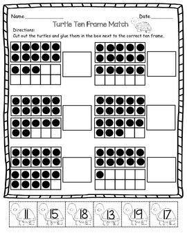 Ten Frame Match 11-20