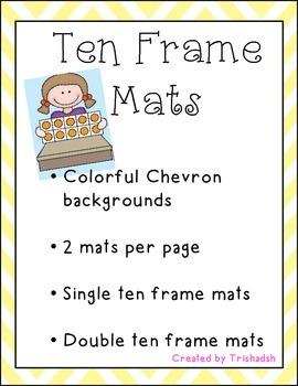 Ten Frame Mats