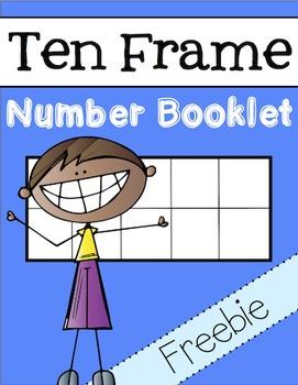 Ten Frame Number Booklet