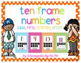 Ten Frame Numbers