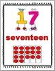 Ten Frames Posters Numbers 1-30