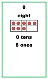 Ten Frame Posters 1-30 with Tens and Ones