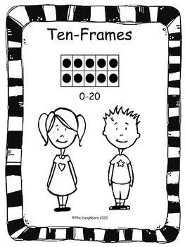 Ten Frame Printable