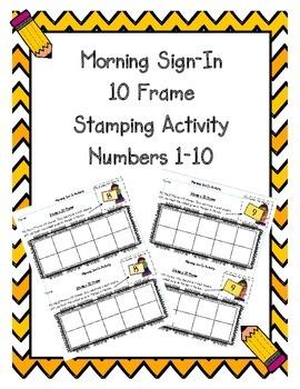 Ten Frame Stamping