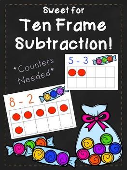 Ten Frame Subtraction Center