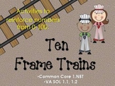 Ten Frame Trains 1-100