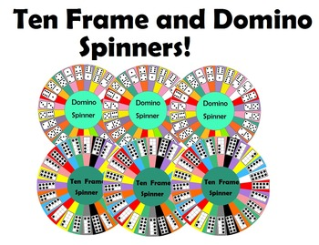 Ten Frame and Domino Spinners