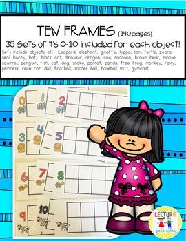 Ten Frames 0-10