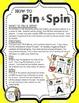 Ten Frames (0-10) - A Pin & Spin Activity