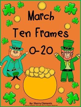 March Ten Frames 0-20