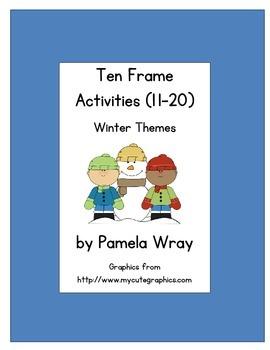 Ten Frames 11-20 (Winter theme)