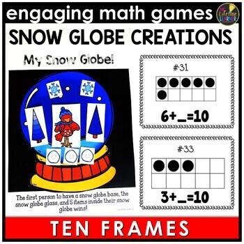 Winter Ten Frames Game