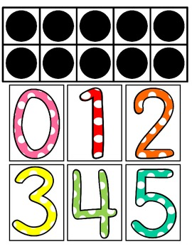 Ten-Frames Collection - Picture Cards for the whole year!