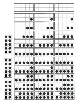 Ten Frames Fluency Game