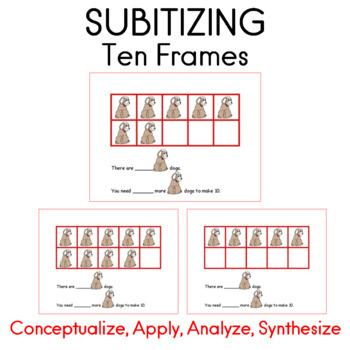 Ten Frames Math Center