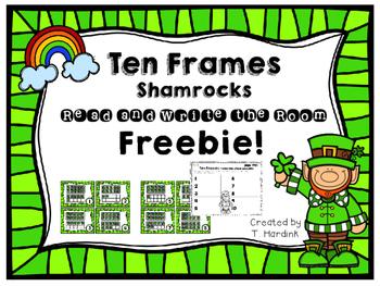 Ten Frames - Shamrocks