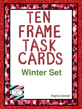 Ten Frames Task Cards:  Winter Theme