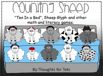 Ten In The Bed - Countdown Song, Sheep Glyph, Math and Lit