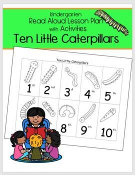 Ten Little Caterpillars Plan Poetry Sequence Comparison Ve