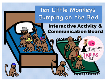 Ten Little Monkeys Jumping on the Bed: Interactive Activity