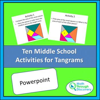 Ten Middle School Activities for Tangrams