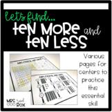 Ten More, Ten Less Bundle