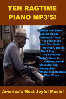 Ten Ragtime Piano mp3s