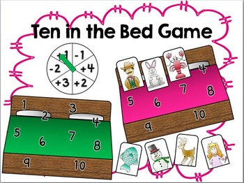 Ten in the Bed Game- simple addition and subtraction