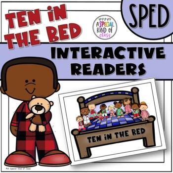 Ten in the Bed Interactive Easy Reader Books