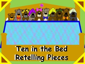 Ten in the Bed Retelling Pieces