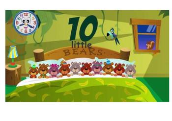 Ten little bears