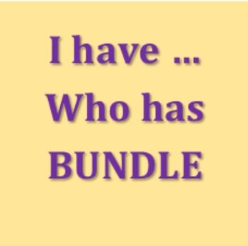 Tengo Quién tiene Bundle
